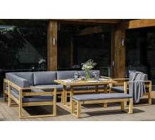 Лаунж зона BOOKA с обеденным столом
