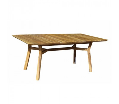 Обеденный стол MODENA прямоугольный 180 см из дерева