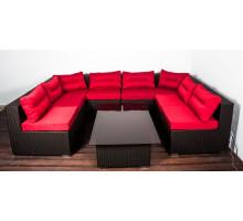 Модульный комплект плетеной мебели Престиж