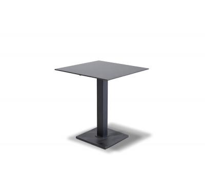 Стол Каффе серый гранит 64х64см из HPL