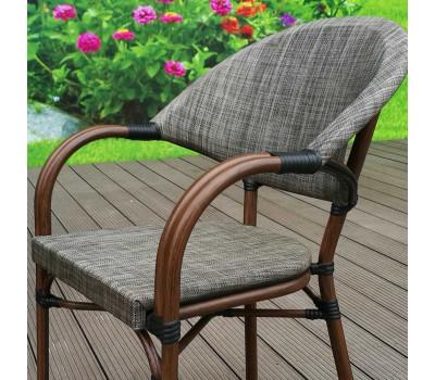 Кресло C029-TX Grey-beige из искусственного ротанга