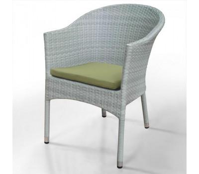 Кресло WS2907W White из искусственного ротанга