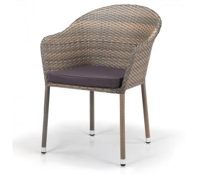 Кресло Y375G-W1289 Pale из искусственного ротанга