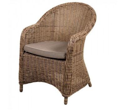 Кресло Y490 Beige из искусственного ротанга