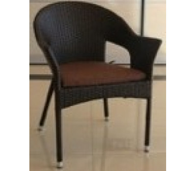 Кресло Y79B-W53 Brown из искусственного ротанга