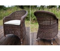 Кресло Равенна коричневое