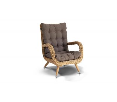 Кресло Толедо из искусственного ротанга