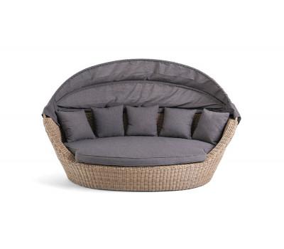 Кровать Амальфи из искусственного ротанга
