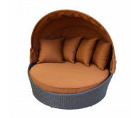 Кровать КМ-0099 коричневая