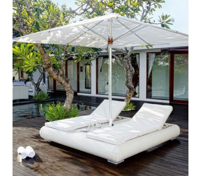 Кровать Mandalay из искусственного ротанга