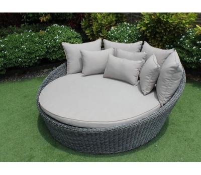 Кровать Seashell (Сишелл) из искусственного ротанга