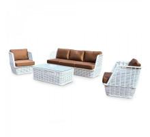 Комплект плетеной мебели KM-0046