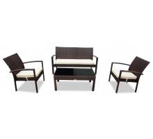 Комплект плетеной мебели Milano (Милано) коричневый
