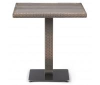 Стол T601G-W1289-70х70 Pale