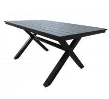 Алюминиевый стол Aroma черный