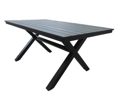 Алюминиевый стол Aroma (Арома) черный