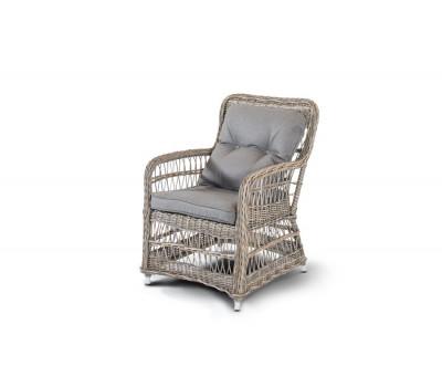 Плетеные стулья из искусственного ротанга. Кресло Цесена