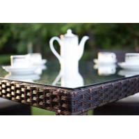 Плетеные обеденные столы