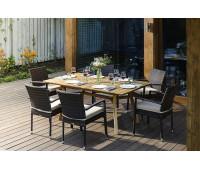Обеденный комплект MODENA 180 см на 6 персон со стульями