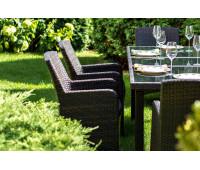 Кресло Mykonos коричневое