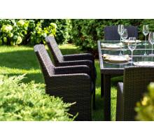 Кресло Mykonos (Миконос) коричневое
