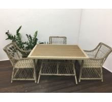 Плетеный стол Вилла