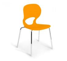 Стул пластиковый SHF-056-O Orange