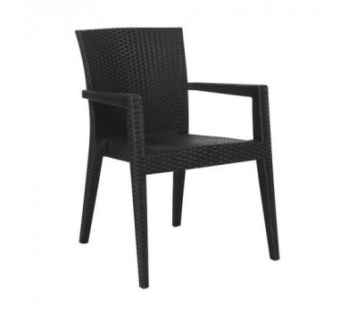 Пластиковый стул Montana темно-серый