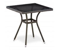 Стол T282BNS-W53-70x70 Brown