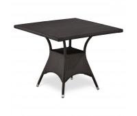 Стол T190BD-W52-90х90 Brown