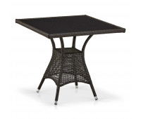 Стол T197BNS-W53-80x80 Brown
