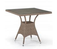 Стол T197BT-W56-80x80 Light brown