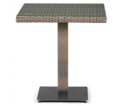 Стол T504T-W2390-D70 Brown из искусственного ротанга