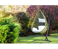 Подвесное кресло Aura зеленое