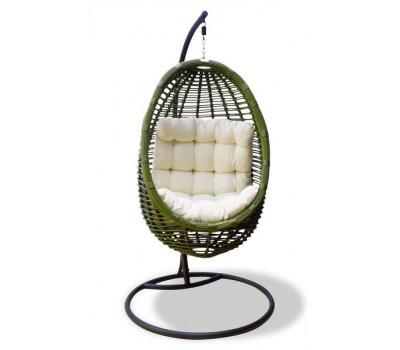 Плетеное подвесное кресло из искусственного ротанга Bamboo (Бамбу)