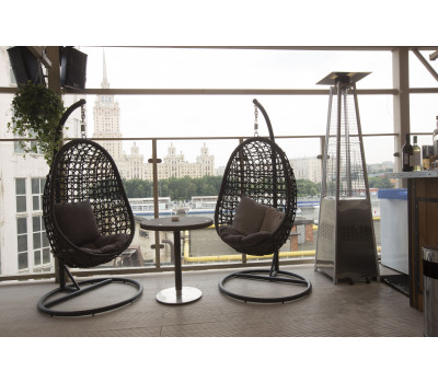 Плетеные подвесные кресла из искусственного ротанга. Подвесное кресло Флоренция